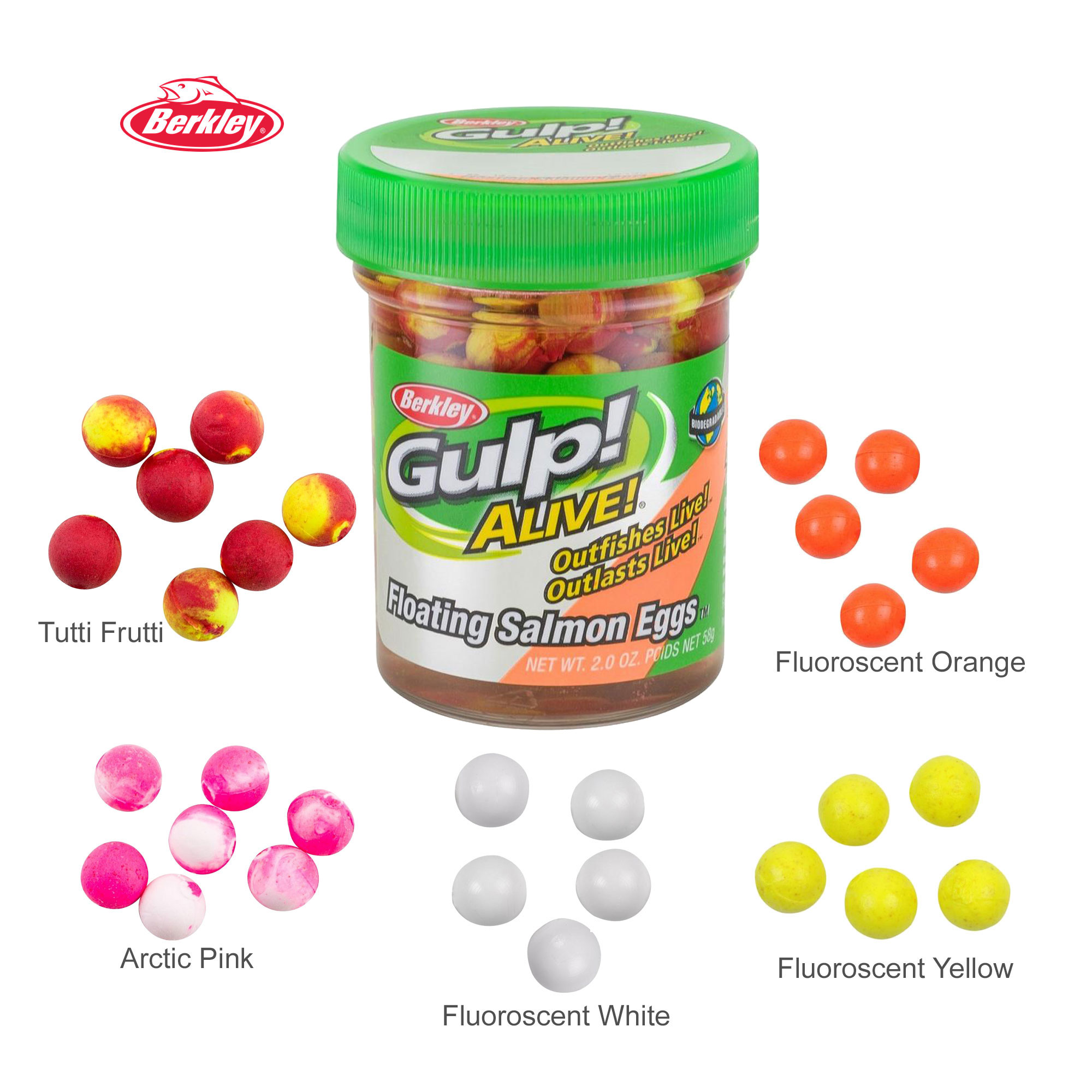 Gulp! Alive!® Floating Salmon Eggs