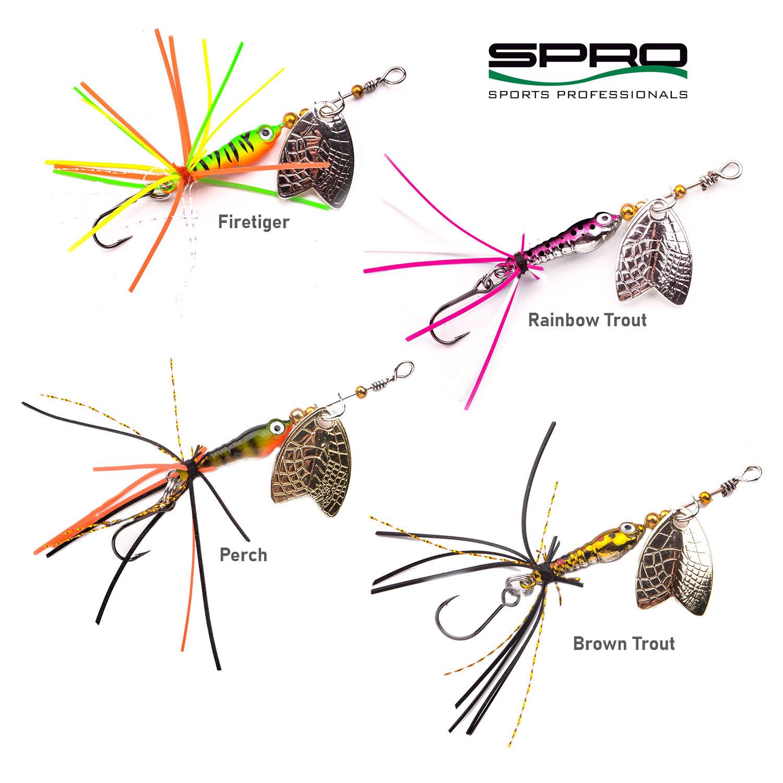 Spro Larva Mayfly Micro Spinner