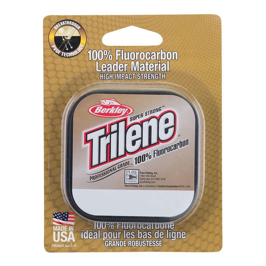 Berkley Trilene 100% fluorocarbon, clear - 25m