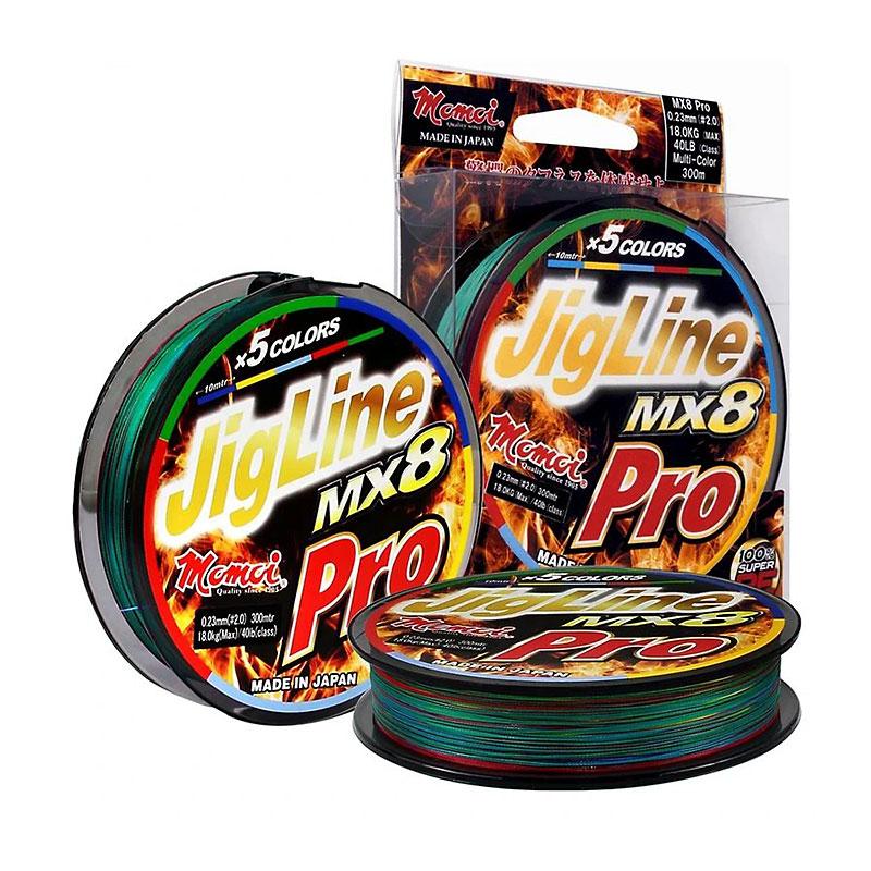 Momoi Jigline MX 8 pro (multicolor) - 200m