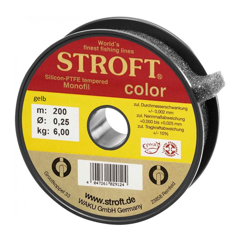 Stroft Color gelb fluoreszierend - 200m