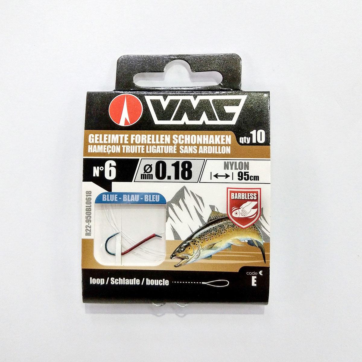 VMC Schonhaken gebunden nylon
