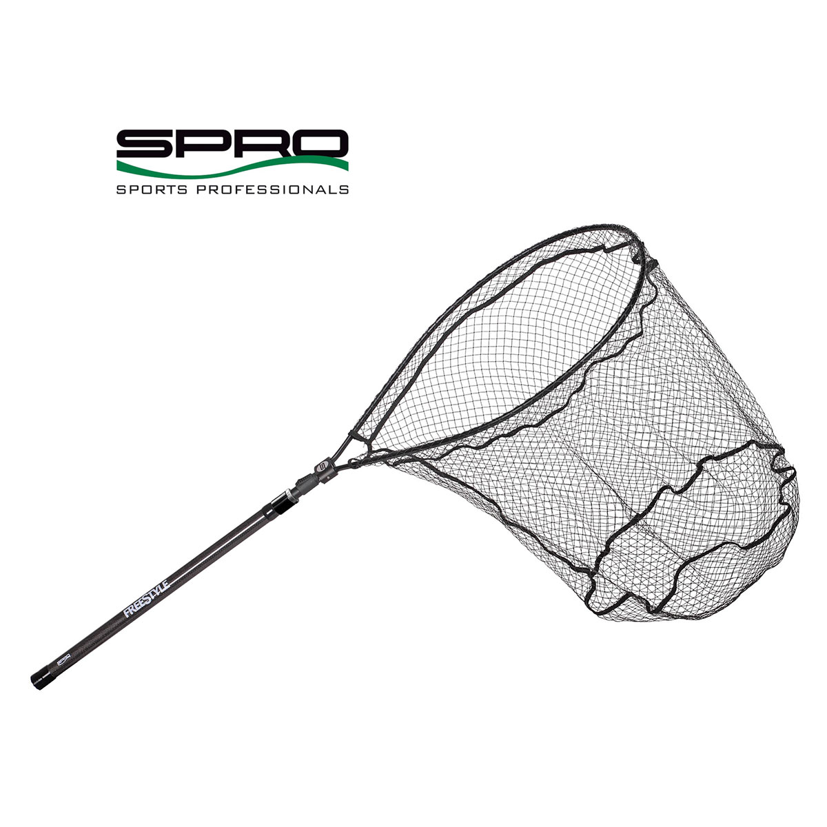 Spro Freestyle Flick Net carbon